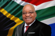 Jacob Zuma est Guide Honoraire Raélien