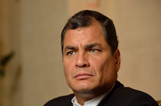 Rafael Correa est Guide Honoraire Raélien