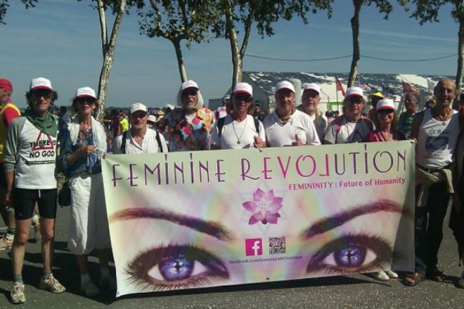 Féminité Révolution - Marathon du Medoc