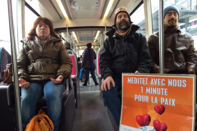 Une minute pour la paix - Dijon