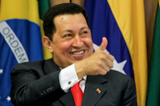 Hugo Chavez devient Guide Honoraire