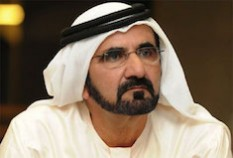 Mohammed Bin Rashid Al-Maktoum est Guide Honoraire
