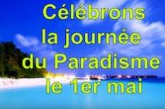 Journée Internationale du Paradisme le 1er Mai raelien raelisme ambassade elohim
