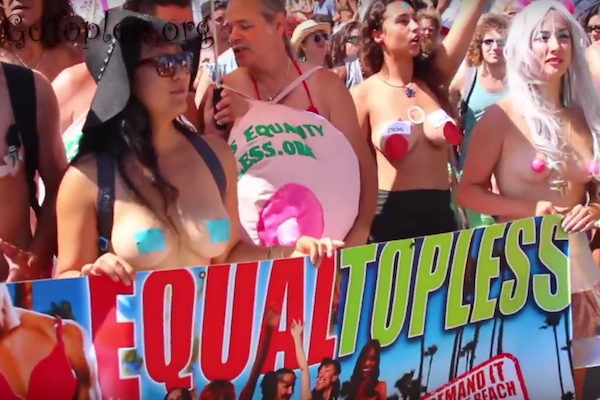 gotopless venice beach 2015