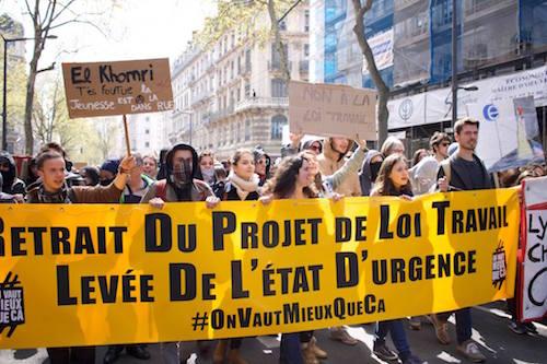 Manifestations à Lyon - 10 Avril 2016