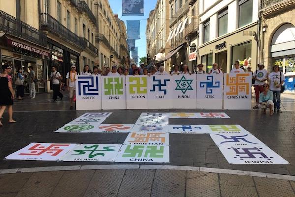 Journée du Swastika, Montpellier - 06/2016