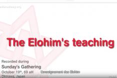 l'enseignement des elohim