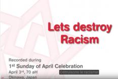 detruisons le racisme
