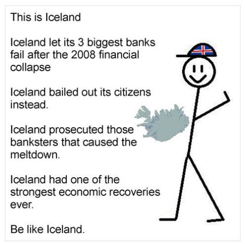 L'Islande contre les banques