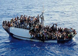 bateau-depuis-lybie