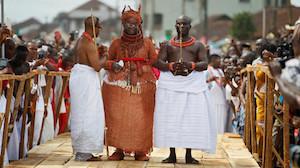 ceremonie en afrique