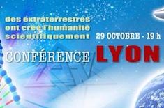 Raélien Français à Lyon conference raelienne à lyon