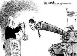 Président Obama prix Nobel de la Paix