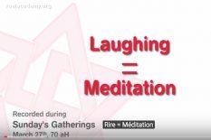 rire est une méditation