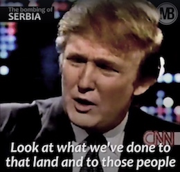 Donald Trump against wars in Eastern Europe
