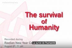 la survie de l'humanite