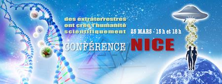 conférence raélienne Nice