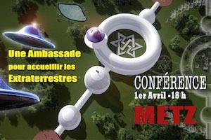 ET Embassy Day à Metz Jour de l'Ambassade des Extraterrestres