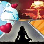 l'autodestruction de l'humanité interdire les armes nucléaires. le temps nous est compté
