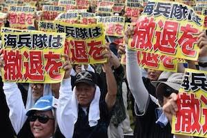 Manifestations au Japon