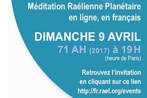 méditation planétaire en ligne, avril