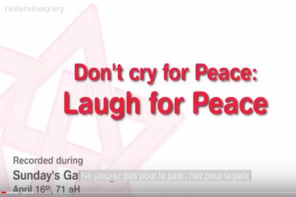 riez pour la paix
