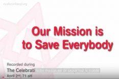 sauver la population