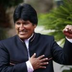 Evo Morales guide Honoraire raélien rael ovni ufo ambassade elohim extraterrestre swastika