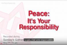 la paix votre responsabilite rael raelien extraterrestre ovni elohim ambassade
