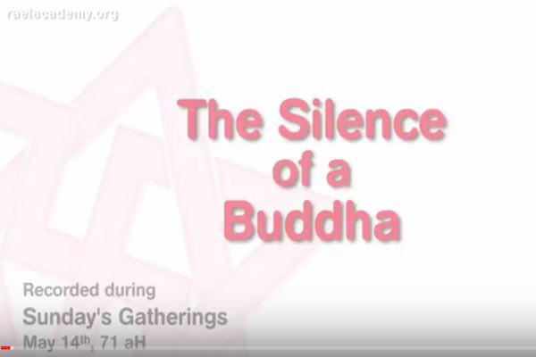 silence du bouddha