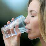 boire de l'eau à jeun