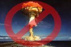 interdiction des armes nucléaires en Octobre 2017