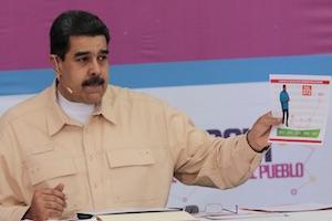 Venezuela contre l'embargo américain
