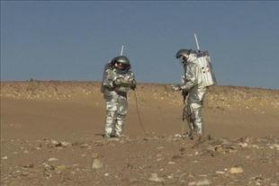 Simulations de la planète Mars