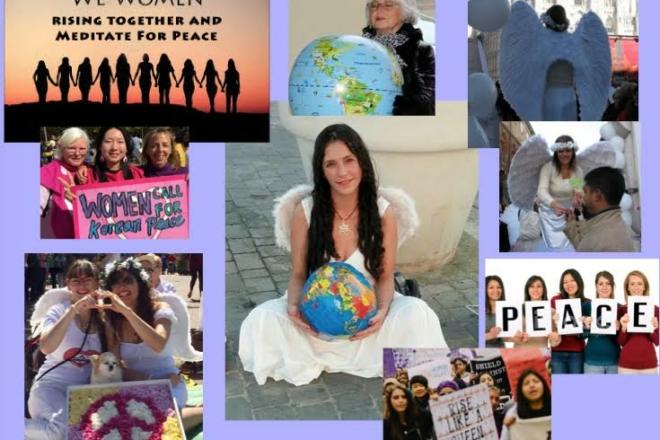 femme paix
