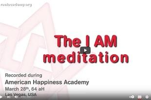 """La Méditation """"Je suis"""""""