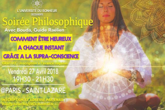 Découverte philosophique soirée philosophique