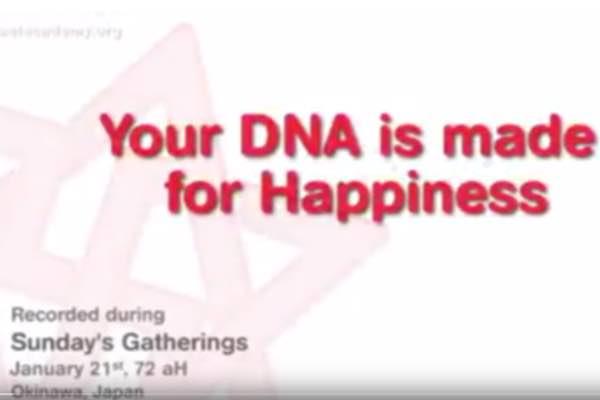 le bonheur dans votre adn le bonheur est dans votre adn