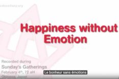 le bonheur sans emotions