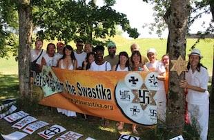 swastika, un symbole de paix