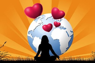 Méditation pour la paix Méditez pour la paix maire pour la paix - hymnes pour la Terre