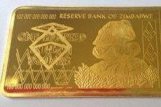 monnaie au Zimbabwe or