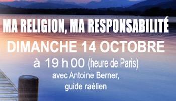 Méditation planétaire en ligne, Octobre 2018