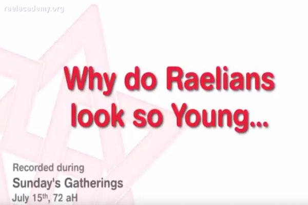 raéliens ont l'air jeunes - raéliens ont l'air jeunes
