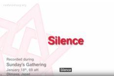 l'importance du silence