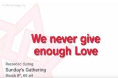 jamais assez d'amour