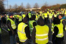Contagion gilets jaunes - révolution mondiale Mouvement des Gilets Jaunes