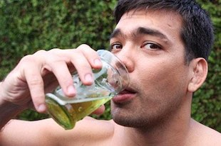 boire de l'urine