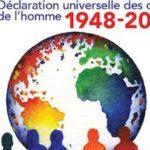 70e anniveraire des Droits de l'Homme