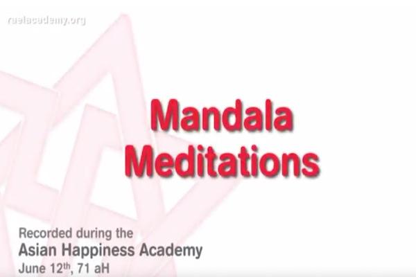 méditations du mandala